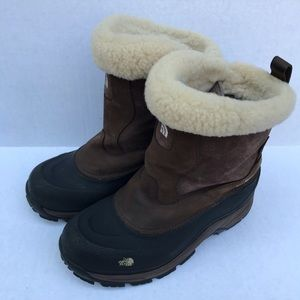 the north face hydroseal boots women's size 8